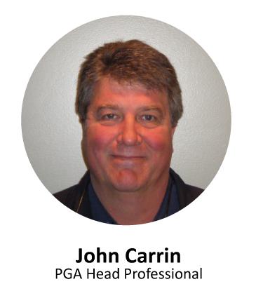 John Carrin, PGA Head Professional