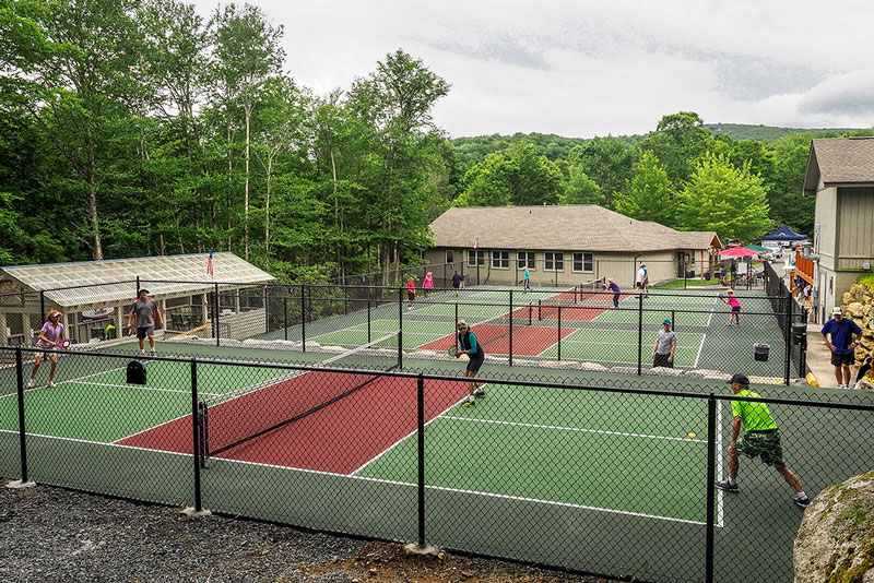 Pickleball at Beech Mountain Club